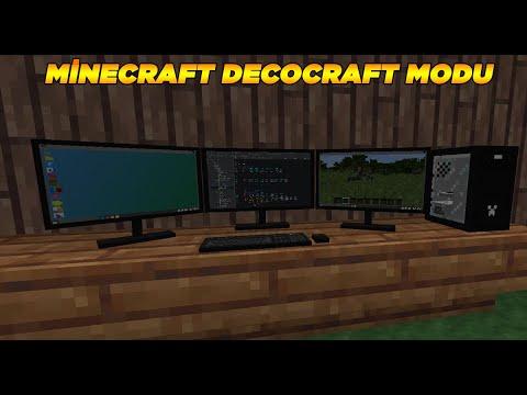 minecraft decocraft modu nasıl indirilir????