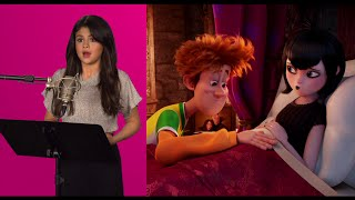 Hotel Transylvania 2 Behind-The-Scenes Film Matchups - Selena Gomez, Andy Samberg, Kevin James