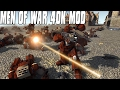 HUGE SPACE MARINE VS CHAOS SPACE MARINE BATTLE - MEN OF WAR 40K MOD