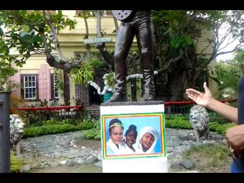 Bob Barley Museum tour Kingston Jamaica