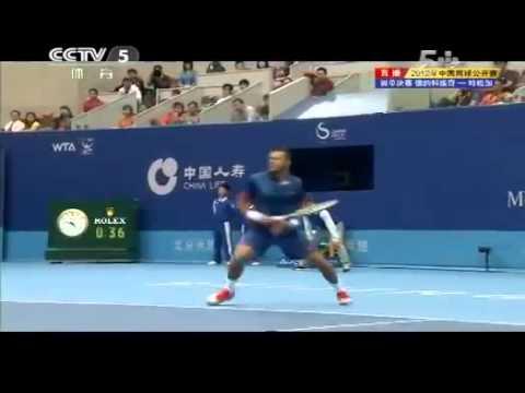 Final   Full Set 1 Novak DJOKOVIC vs  Jo Wilfried TSONGA China Open 2012