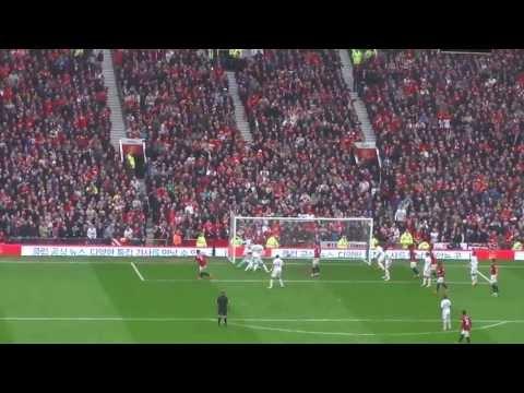 Rio Ferdinand Winning Goal - Manchester United vs Swansea