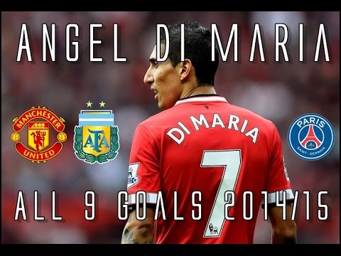 Angel Di Maria // All 9 Goals for Manchester United & Argentina 2014/15