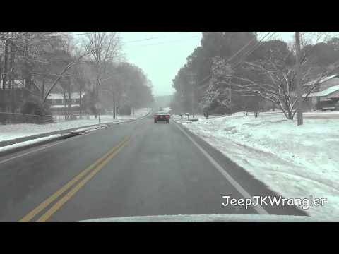 Atlanta snow storm 1/28/2014 part 1