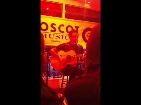 Matt Heafy of Trivium singing, an Elvis cover,
