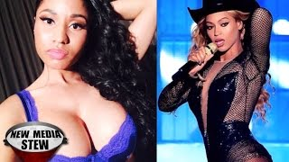 BEYONCE, NICKI MINAJ New Song Raps about Leaving JAY Z