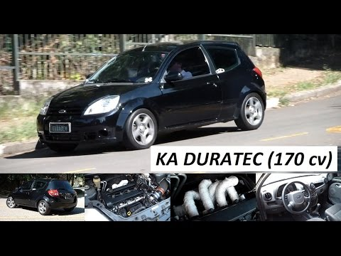 Garagem do Bellote TV: Ford Ka Duratec (filtro esportivo, escape dimensionado, 170 cv)