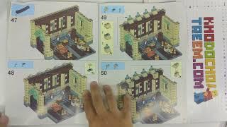 Hướng dẫn lắp ráp Lepin 16030 Lego Harry Potter 4842 The Hogwarts Castle giá sốc rẻ nhất