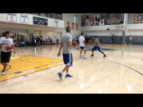 Stephen Curry shooting drills/workout w Steve Nash
