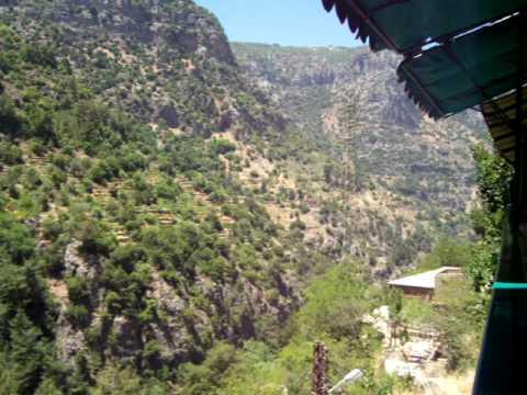 Lebanon travel -Qadisha (Kadisha) valley