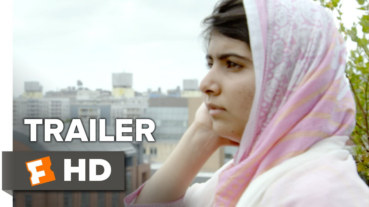He Named Me Malala Official Trailer #2 (2015) - Malala Yousafzai Documentary HD