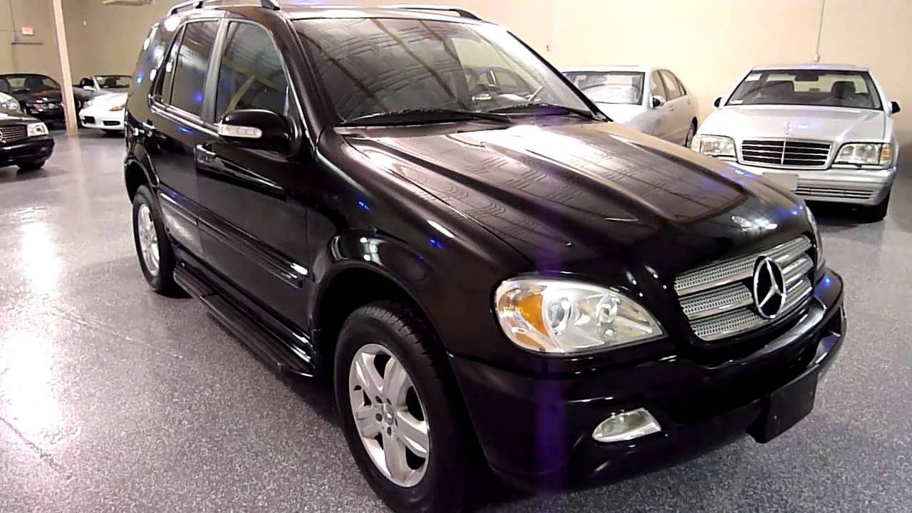 2005 Mercedes Benz ML350 AWD Special Edition 2027 SOLD