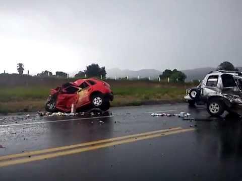 Tragico Accidente En La Autopista Puebla - Perote