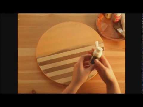Espejo de mosaico youtube for Como hacer un espejo