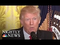 'Leaks Are Real, News Is Fake', President Trump Says In Combative News Conference | NBC Nightly News