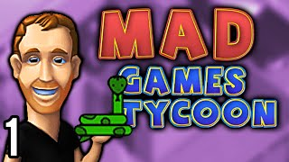 Mad Games Tycoon | Better Than Game Dev Tycoon? (Let's Play Mad Games Tycoon / Gameplay ep 1)