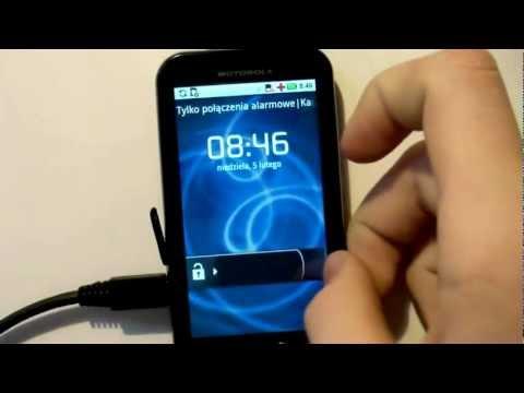 Motorola Defy - Wipe, Flash SBF Froyo, Root, Install 2ndinit and install CM7
