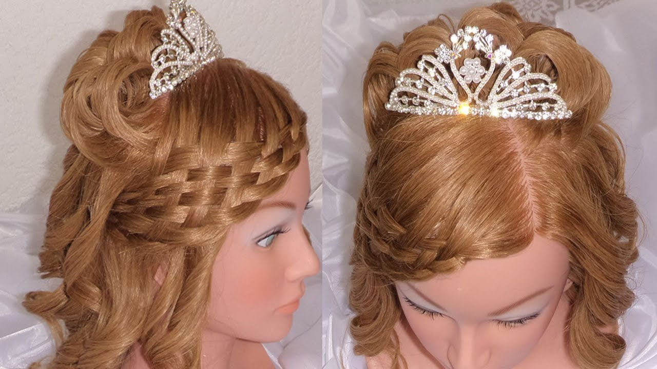 PARA 15 A?OS / NOVIA / 1ra. COMUNION WEDDING / PROM HAIRSTYLE ...