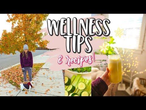 HEALTH & WELLNESS TIPS! + Easy Recipes!