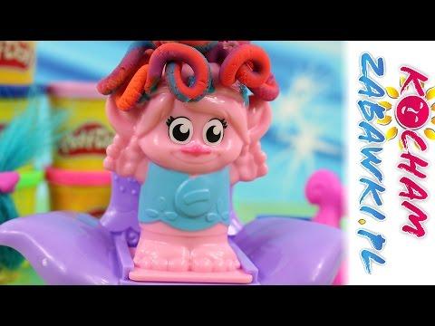 Fryzury Marzeń - Play-Doh Trolle - Bajki i Kreatywne zabawki dla dzieci