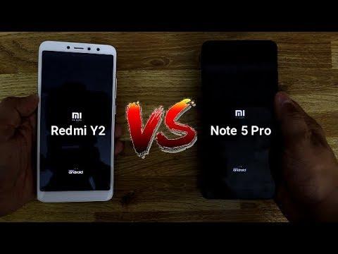 Redmi Y2 Vs Redmi Note 5 Pro SpeedTest Comparison I Hindi
