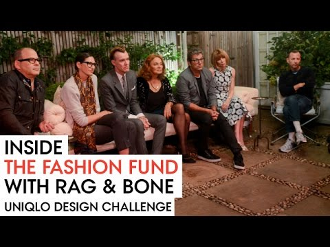 Uniqlo Design Challenge at Anna Wintour's Home -- Inside the Fashion Fund with Rag & Bone