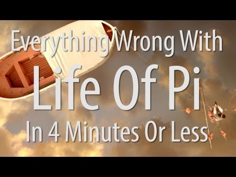 Everything Wrong With Life Of Pi In 4 Minutes Or Less video