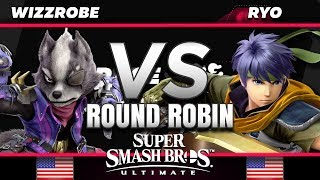 WIzzrobe (Sheik/Wolf) vs. Ryo (Ike) - RR - The Race for the Spectrum