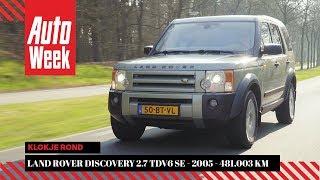 Land Rover Discovery 2.7 TDV6 SE - 2005 - 481.003 km - Klokje rond
