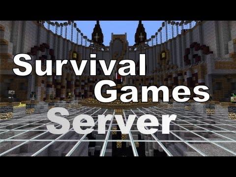 Minecraft 1.6.2 Survival Games [ Vorstellung I Server ]