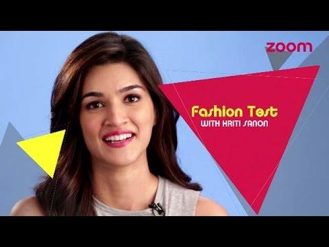 Fashion Test With Kriti Sanon | LIGHTS CAMERA FASHION | EXCLUSIVE Photo Image Pic