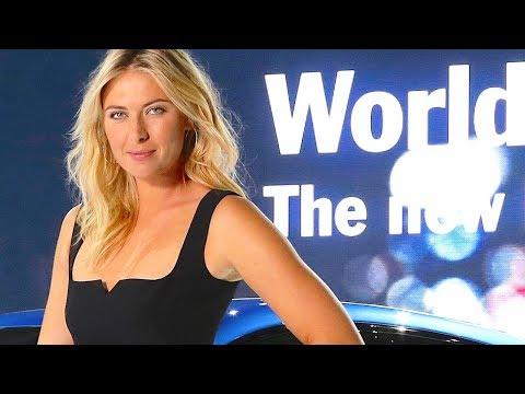 Maria Sharapova Hot Porsche Macan Hd Launch Sexy Commercial 2014  Carjam Tv video