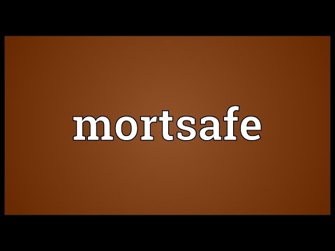 Header of mortsafe