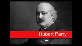 Hubert Parry Jerusalem Orch Elgar