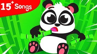 LITTLE BABY PANDA, BABY SHARK | Cute Baby Animals, Baby Rhino, Baby T-Rex by Little Angel