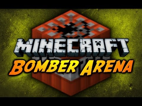 Minecraft: Bomber Arena! (Multiplayer Map)