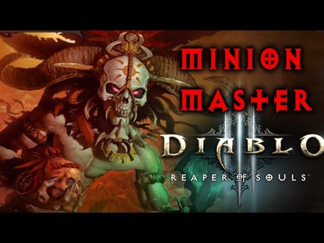Diablo 3 Witch Doctor Build Gameplay - Amazing Minion Master! - Reaper of Souls