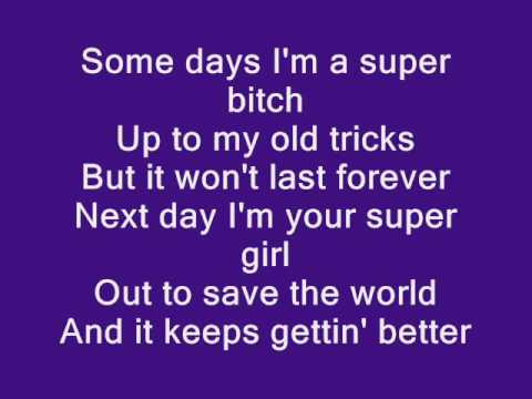 Christina Aguilera - Keeps Getting Better [Lyrics]