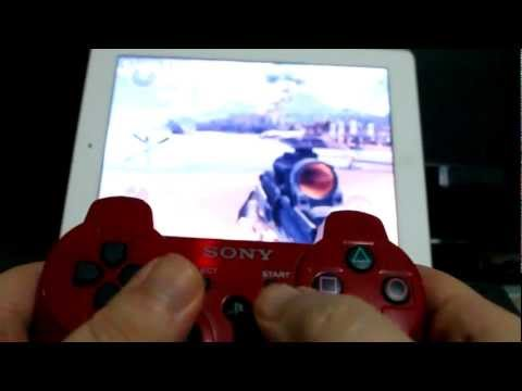 How to Connect PS3 Controller to Jailbroken iOS Device