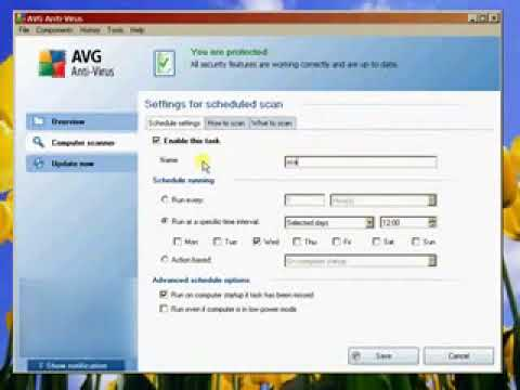 How to use AVG AntiVirus 9.0