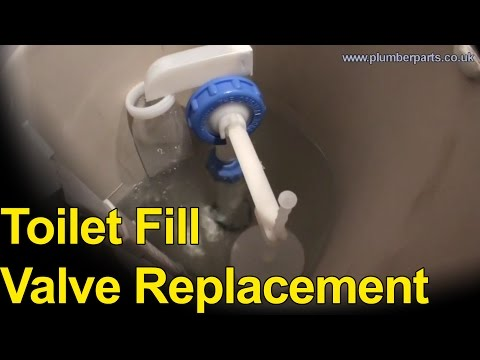0 TOILET FILL VALVE CHANGE   Plumbing Tips