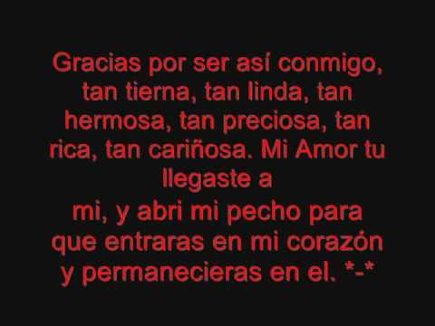 Te Amo Mucho Mi Amor (L)