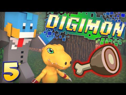 meat Farmer! Minecraft - Digimon Modded Adventure! - Ep #5 video