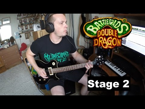 Battletoads Double Dragon Stage 2 (hard cover)