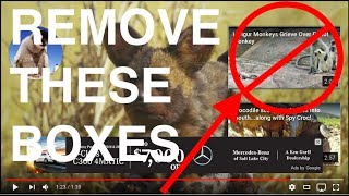 Block Annoying New Overlay at End of YouTube Videos