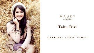 Maudy Ayunda Tahu Diri Audio Lirik