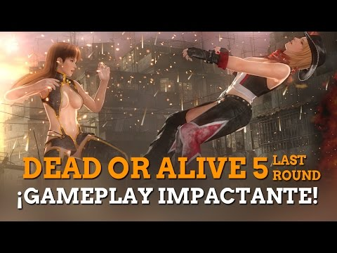 Dead or Alive 5 Last Round: Gameplay impactante