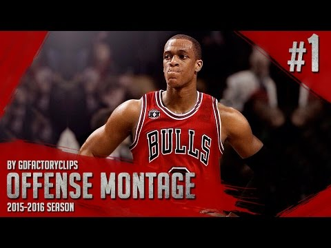 Rajon Rondo Offense Highlights 2015/2016 (Part 1) - Welcome to Chicago Bulls!