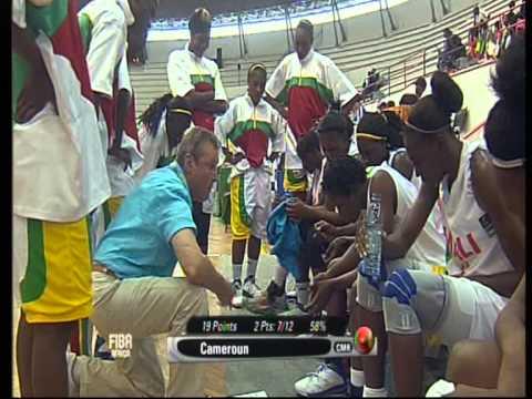 Women's Basketball National Team Cameroon vs Mali - Part 1