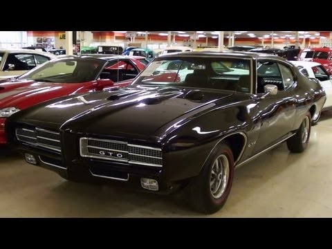 1969 Pontiac GTO 400 V8 Muscle Car